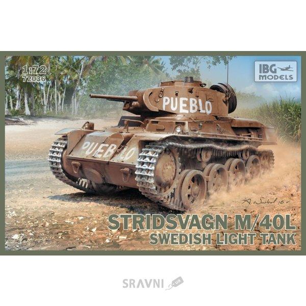 Фото IBG Models Шведский легкий танк Stridsvagn M/40L (IBG72036)