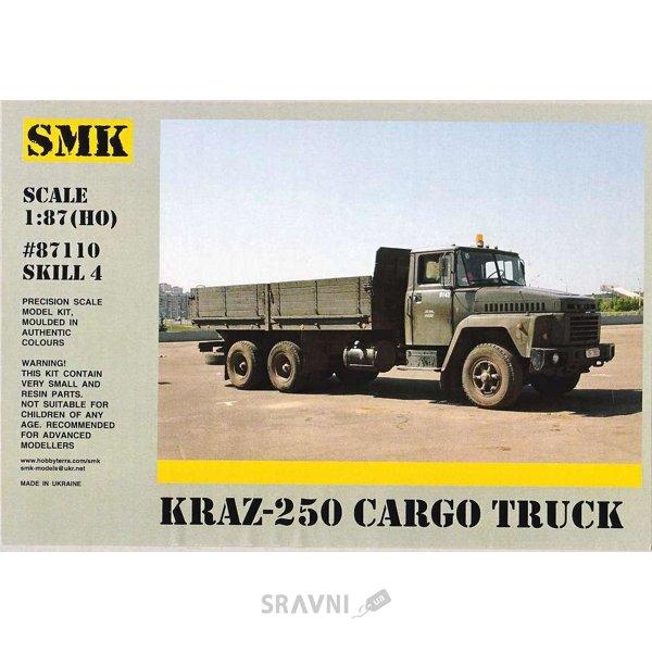 Фото SMK КрАЗ-250 бортовой автомобиль (87110)