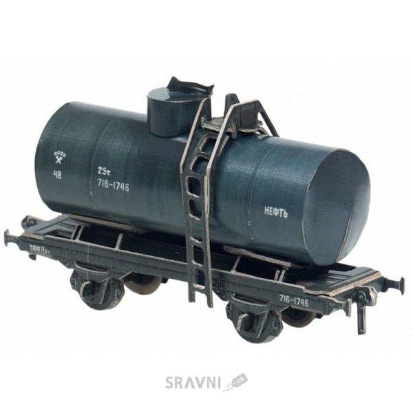 Фото Умная бумага Двухосная цистерна 25 м3 (нефть) (386-02)