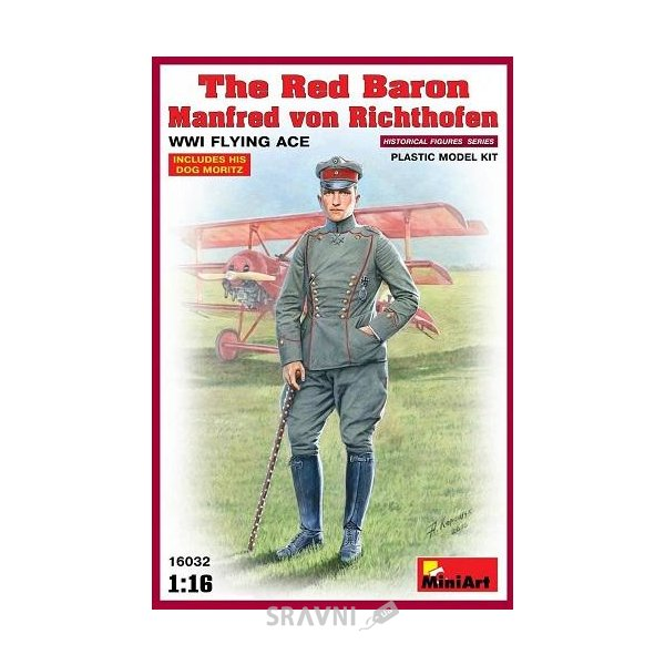 Фото MiniArt Red Baron. Manfred von Richthofen.WW1 Flying Ace (MA16032)