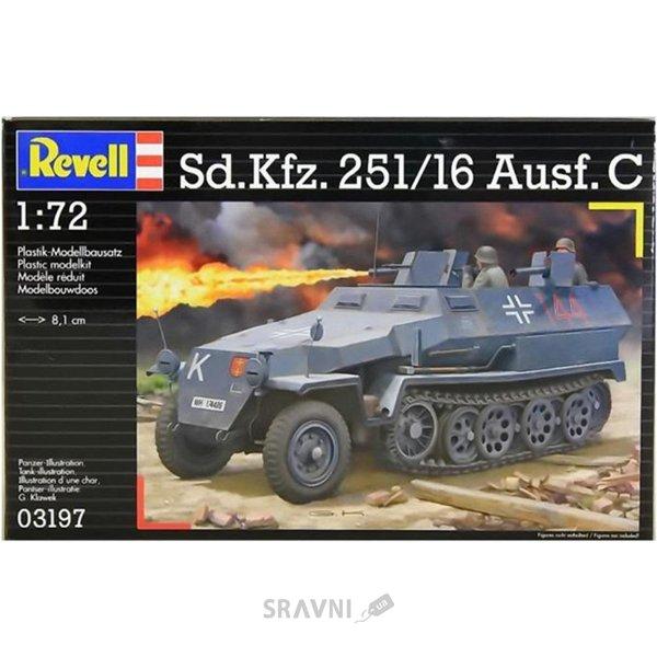 Фото Revell Полугусеничный бронетранспортер Sd.Kfz. 251/16 Ausf C (RV03197)