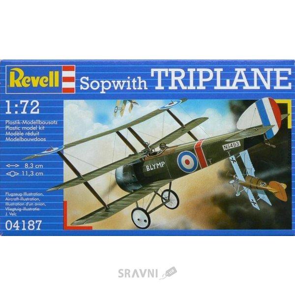 Фото Revell Сборная пластиковая модель самолета Sopwith Triplane. (RV04187)