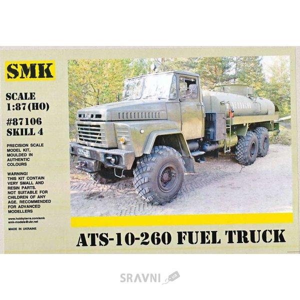Фото SMK АЦ-10-260 армейский топливозаправщик (87106)