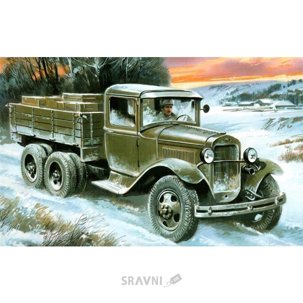 Фото UniModels GAZ-AAA WW2 Soviet truck (UM317)