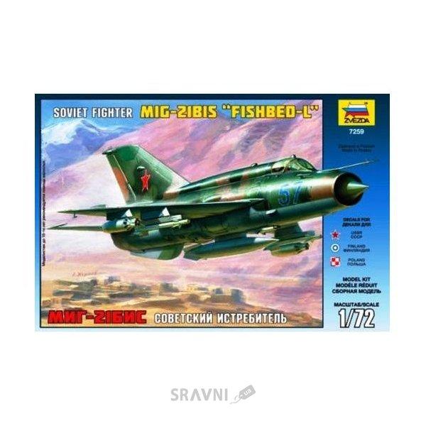 Фото ZVEZDA MiG-21bis Soviet fighter (ZVE7259)
