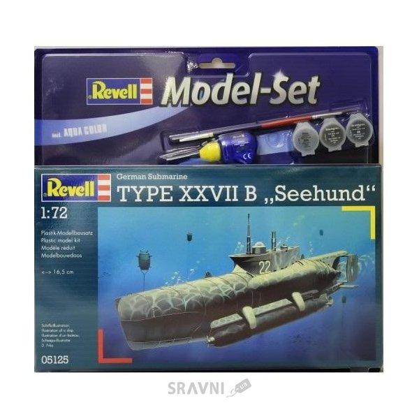 """Фото Revell Подарочный набор с подводной лодкой Type XXVIIB """"Seehund"""" (RV65125)"""