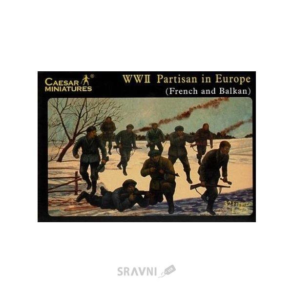 Фото Caesar Miniatures Вторая мировая война: партизанские отряды в Европе CMH056
