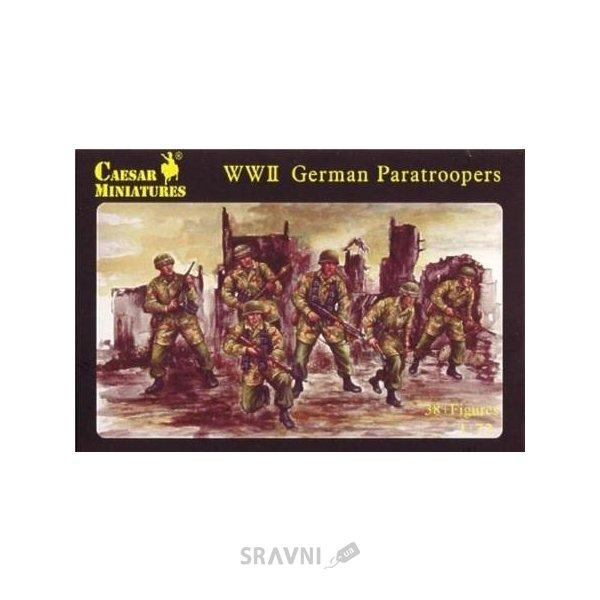 Фото Caesar Miniatures Немецкие парашютисты Второй мировой войны CMH068