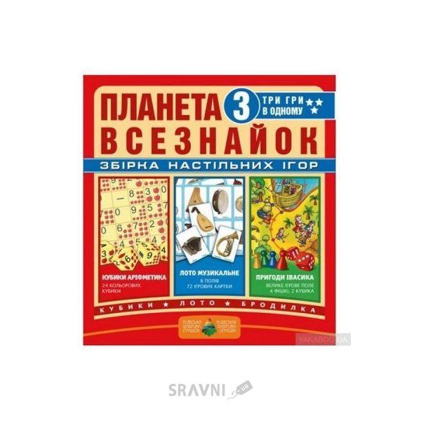 Фото Киевская фабрика игрушек Планета всезнаек (6001307)
