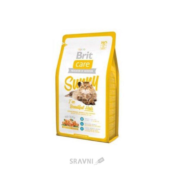 Фото Brit Care Cat Sunny I've Beautiful Hair 0,4 кг
