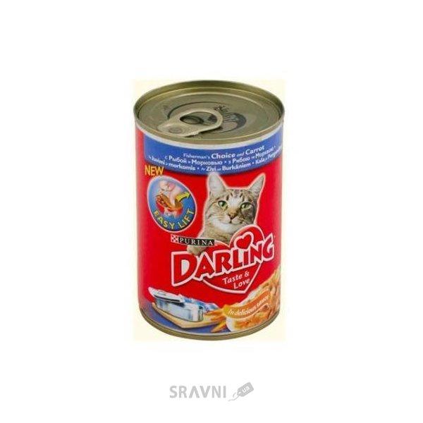 Фото Darling Консервы с рыбой и морковкой 0,4 кг