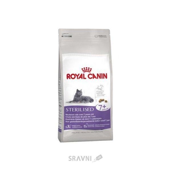 Фото Royal Canin Sterilised 7+ 0,4 кг