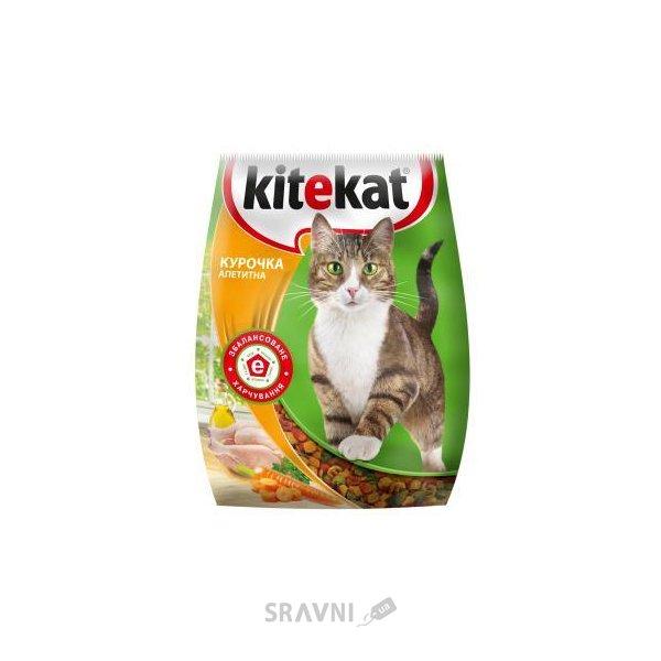 Фото Kitekat Сухой корм Курочка Аппетитная 13 кг
