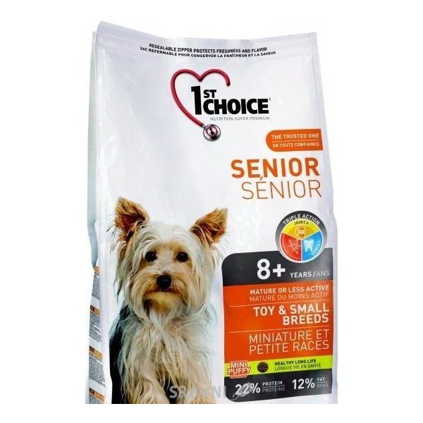 Фото 1st CHOICE Seniors Toy & Small Breeds 7 кг