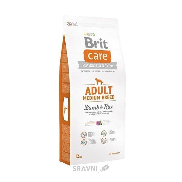Фото Brit Care Adult Medium Breed Lamb & Rice 12 кг