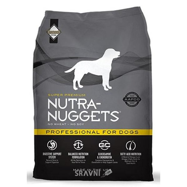 Фото Nutra Nuggets Professional Formula for dogs 1 кг