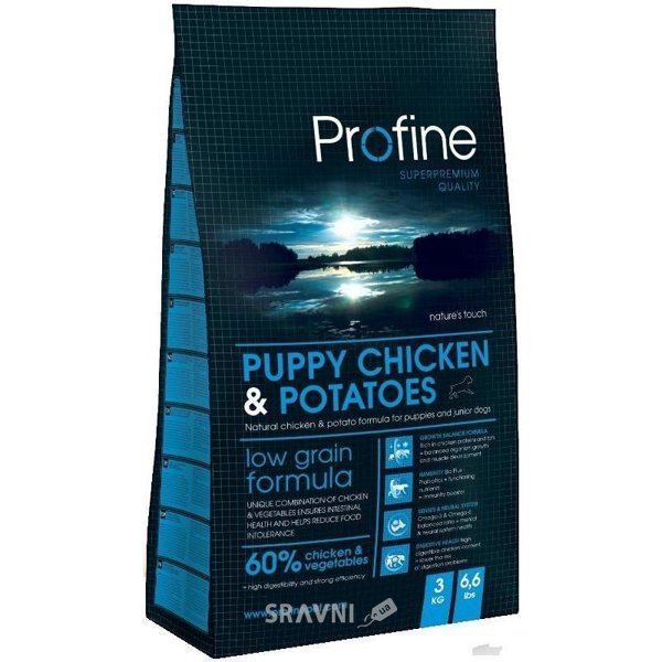 Фото Profine Puppy Chicken & Potatoes 15 кг