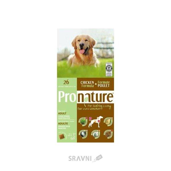 Фото Pronature 26 для взрослых собак крупных пород 15 кг