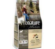 Фото Pronature Holistic для пожилых собак океаническая рыба и рис 13,6 кг