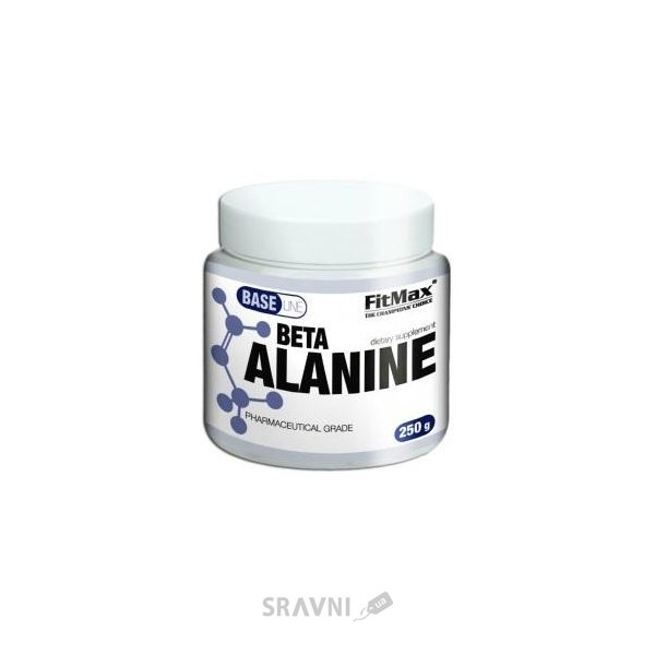 Фото FitMax Base Beta Alanine 250g (100 servings)