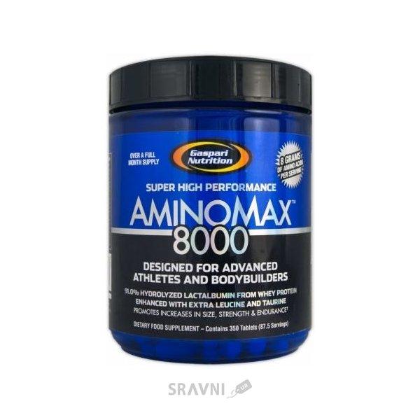 Фото Gaspari Nutrition AminoMax 8000 350 tabs