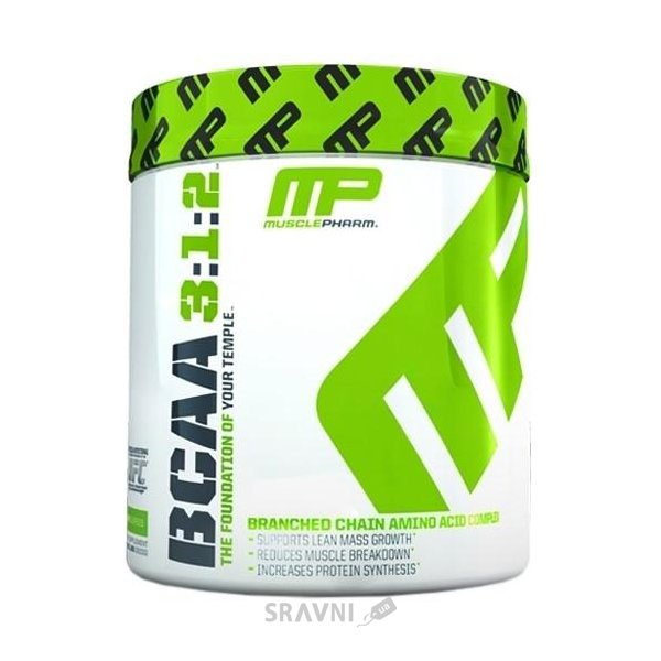 Фото MusclePharm BCAA 3:1:2 Powder 30 Servings (215g)