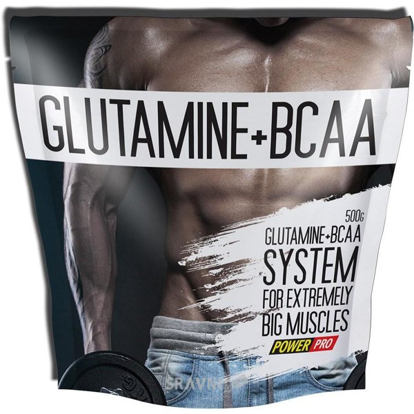 Фото PowerPro Glutamine + BCAA 500g