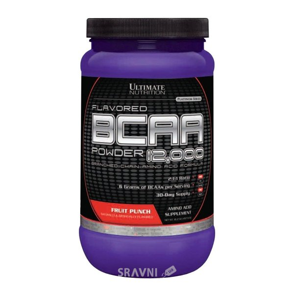 Фото Ultimate Nutrition BCAA 12.000 Powder 400g