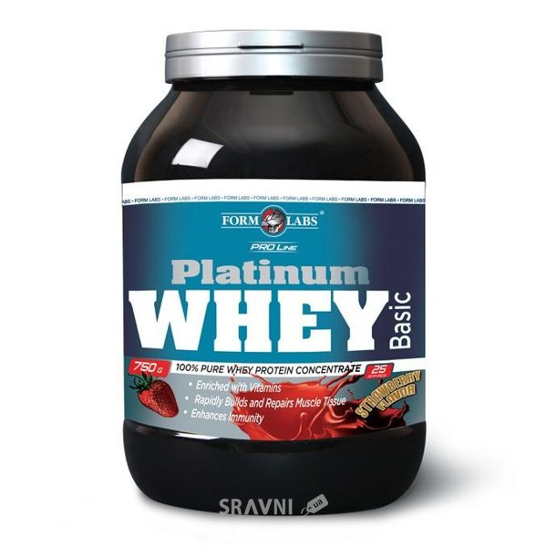 Фото Form Labs Platinum Whey Basic 2270 g (75 servings)
