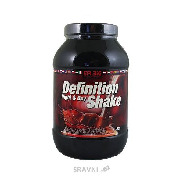 Фото Mr. Big Definition Shake Night and Day Casein 750 g (25 servings)