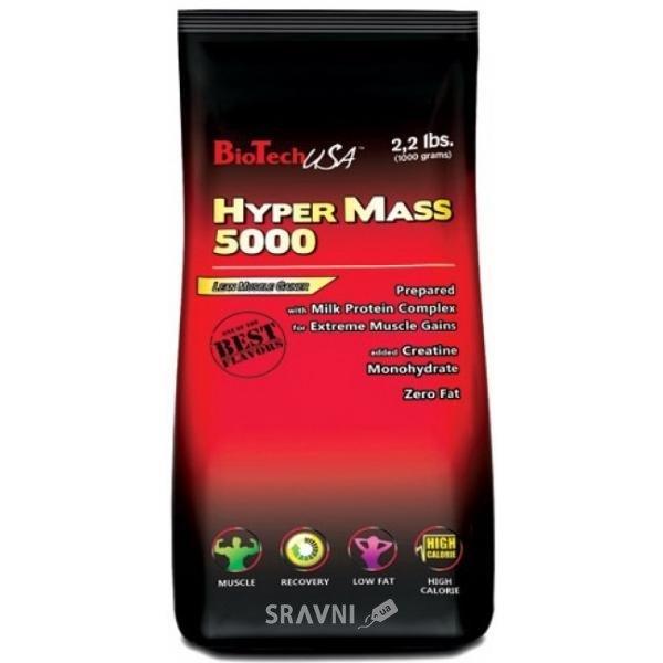 Фото BioTech Hyper Mass 5000 1000g (15 servings)