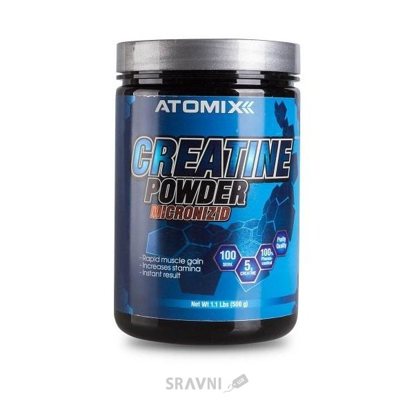 Фото Atomixx Creatine Powder Micronizid 500 g
