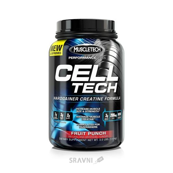 Фото MuscleTech Cell-Tech 1400 g