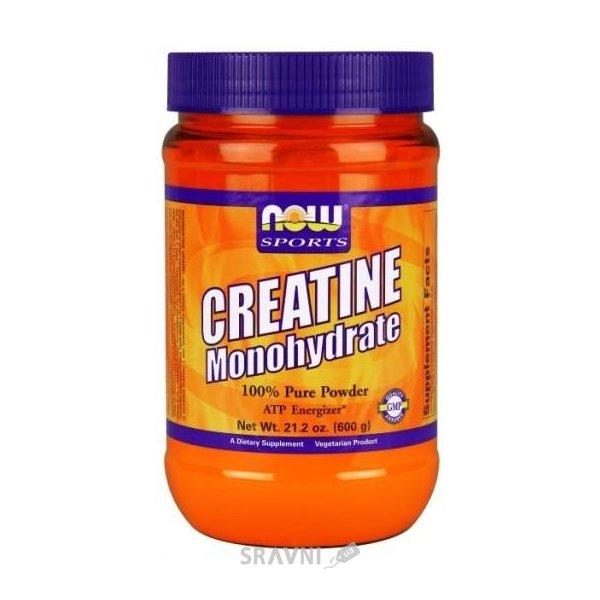 Фото Now Sports Creatine Monohydrate Pure Powder 600 g (21,2 oz)