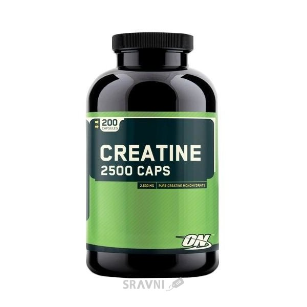 Фото Optimum Nutrition Creatine 2500 Caps 200 caps