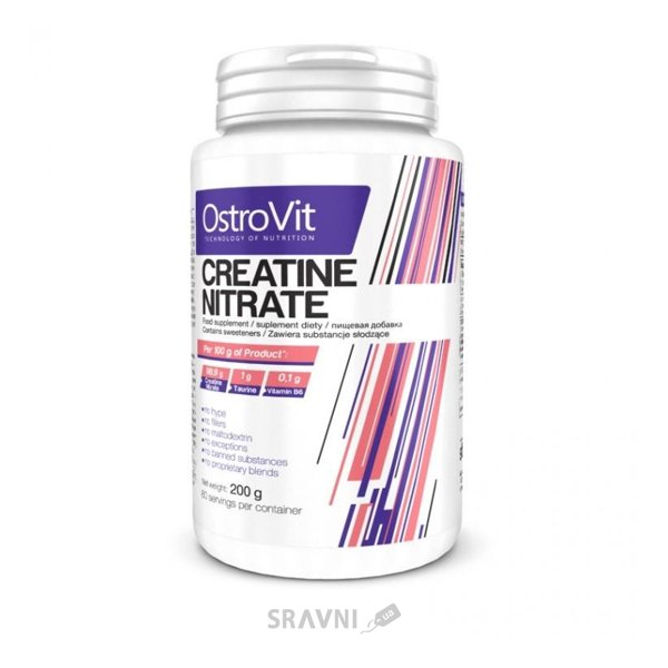 Фото OstroVit Creatine Nitrate 200 g (80 servings)