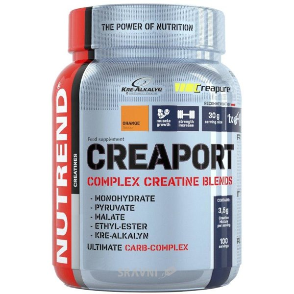 Фото Nutrend Creaport 600g