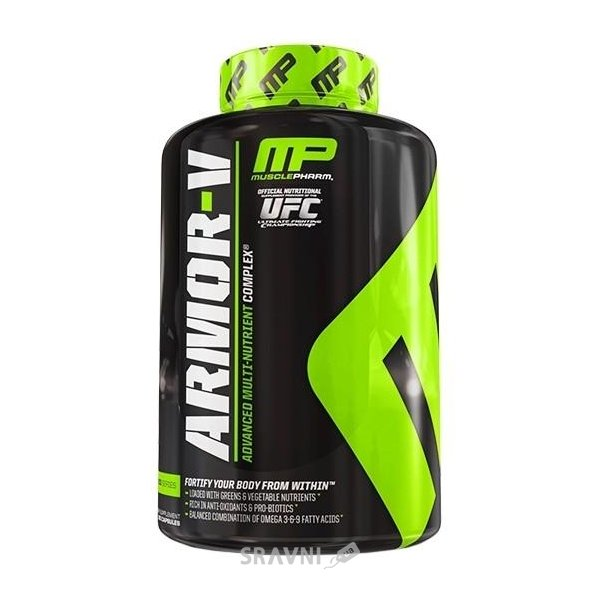Фото MusclePharm Armor-V 180 caps (30 servings)