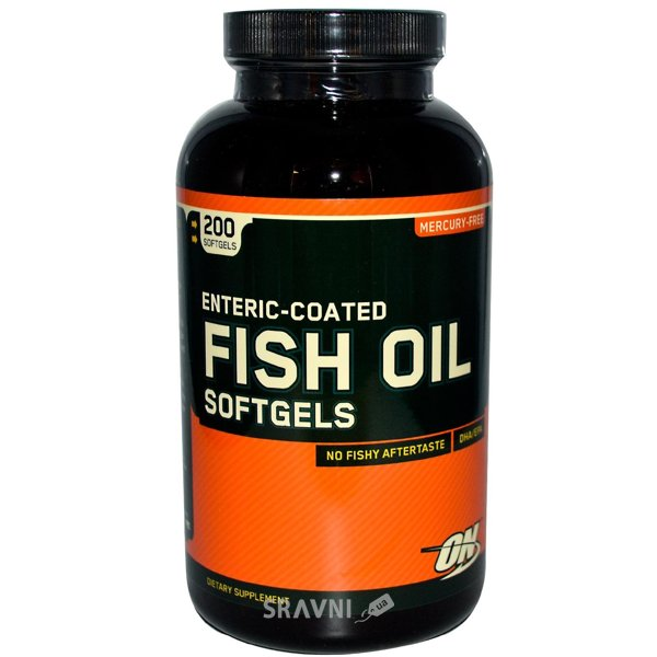 Фото Optimum Nutrition Fish Oil Softgels 200 caps