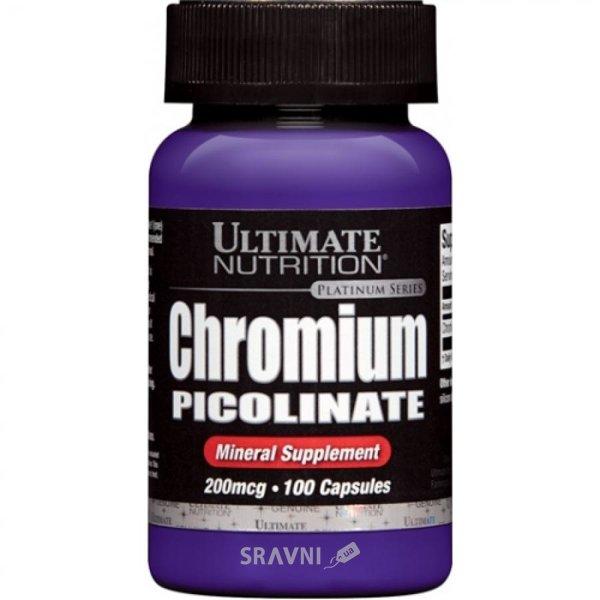 Фото Ultimate Nutrition Chromium Picolinate 200 mcg 100 caps