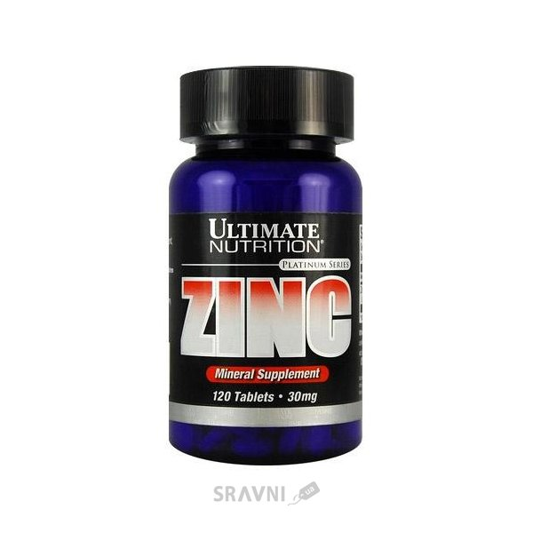 Фото Ultimate Nutrition Zinc 30 mg 120 tabs