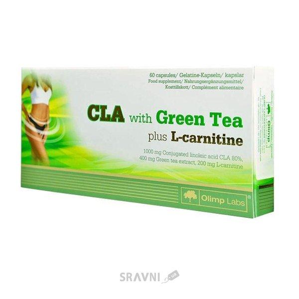 Фото Olimp Labs CLA with Green Tea plus L-Carnitine 60 caps