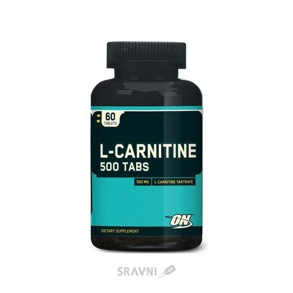 Фото Optimum Nutrition L-Carnitine 500 Tabs 60 tabs