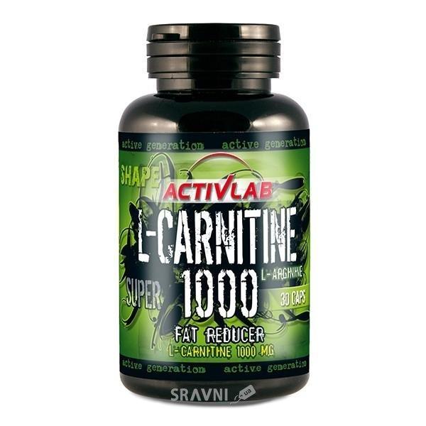 Фото Activlab L-Carnitine 1000 30 caps