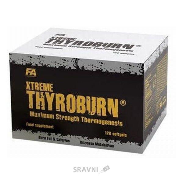 Фото FA Nutrition Xtreme Thyroburn 120 caps