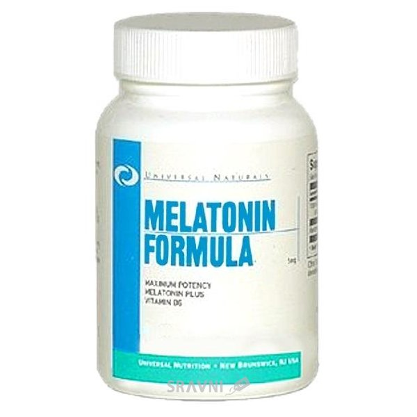 Фото Universal Nutrition Melatonin 60 caps
