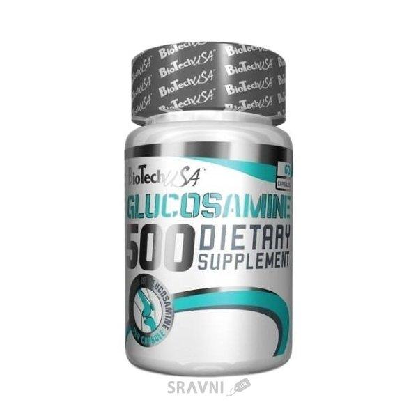 Фото BioTech Glucosamine 500 60 caps