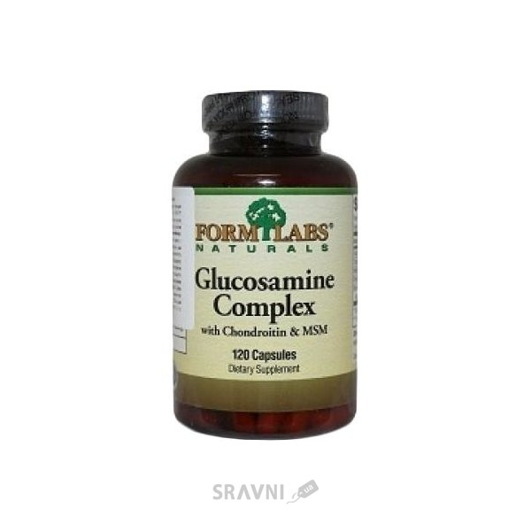 Фото Form Labs Glucosamine Complex with Chondroitin & MSM 240 caps