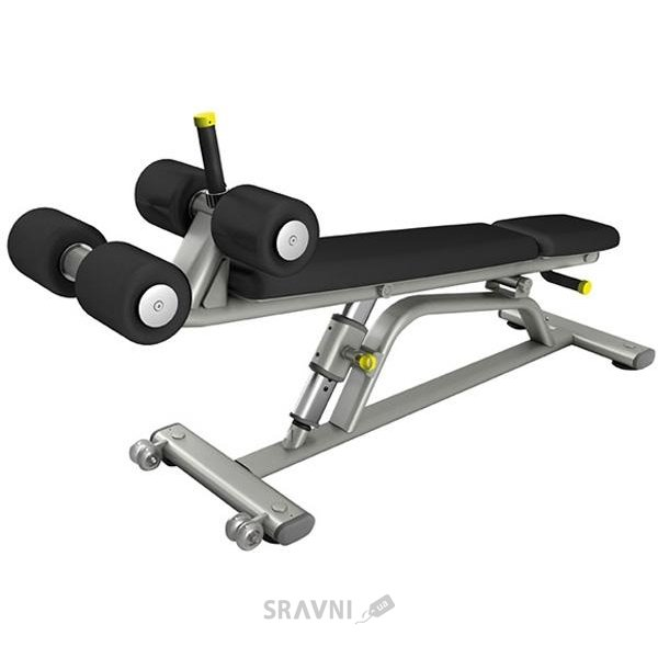 Фото Pulse Fitness Adjustable Abdominal Decline Bench 650G