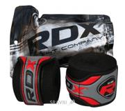 Фото RDX Бинт боксерский Fibra Black 4.5m